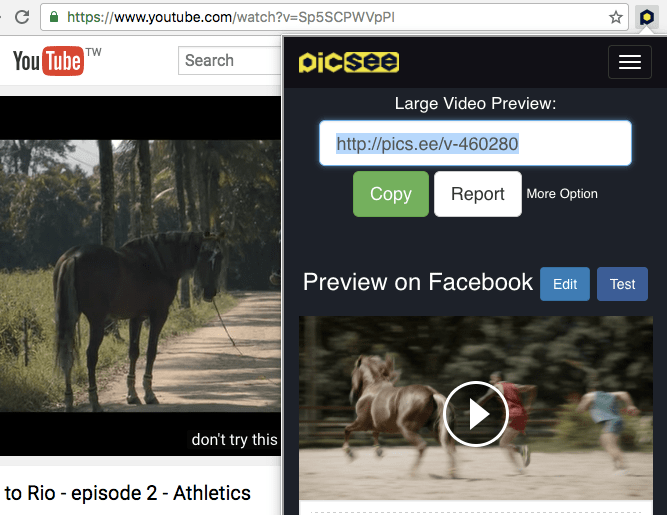 Want to experience PicSee Chrome extension?
